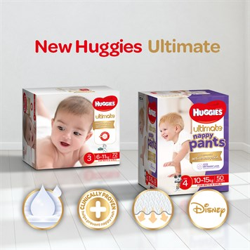 New Huggies Ultimate Innovations Feature